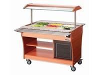Chariot buffet réfrigéré 3x GN1/1