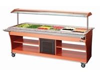 Chariot buffet réfrigéré 6x GN1/1