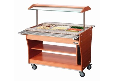 Chariots buffets Chauds