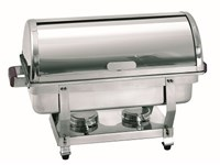 Chafing dish GN1/1 H. 65mm à couvercle coulissant