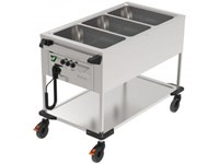 Chariot Bain-Marie 3 cuves - Occasion