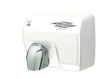 Sèche-main et distributeurs de savon